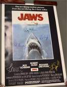 Jaws Poster Signed