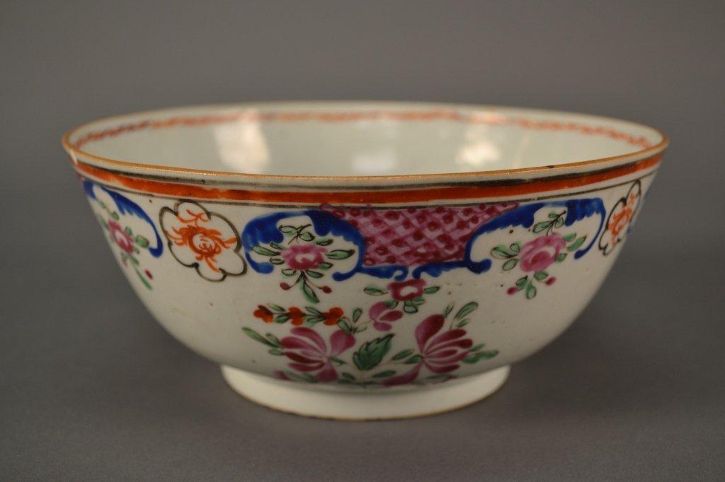 "Chinese Export Bowl 19c size: 7.5"" diameter"