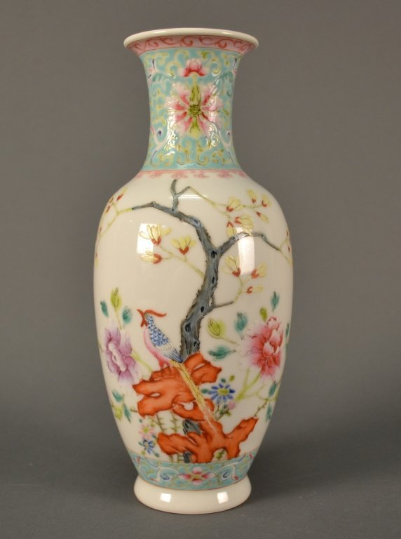 """Chinese Republic Vase size: 9.5"""" tall"""