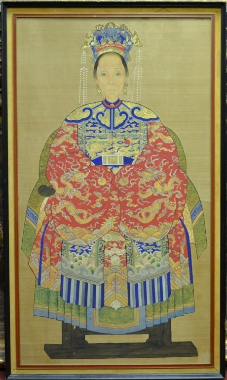 """Chinese Painting on Silk Size : 27 1/2"""" x 46 1/2"""""""