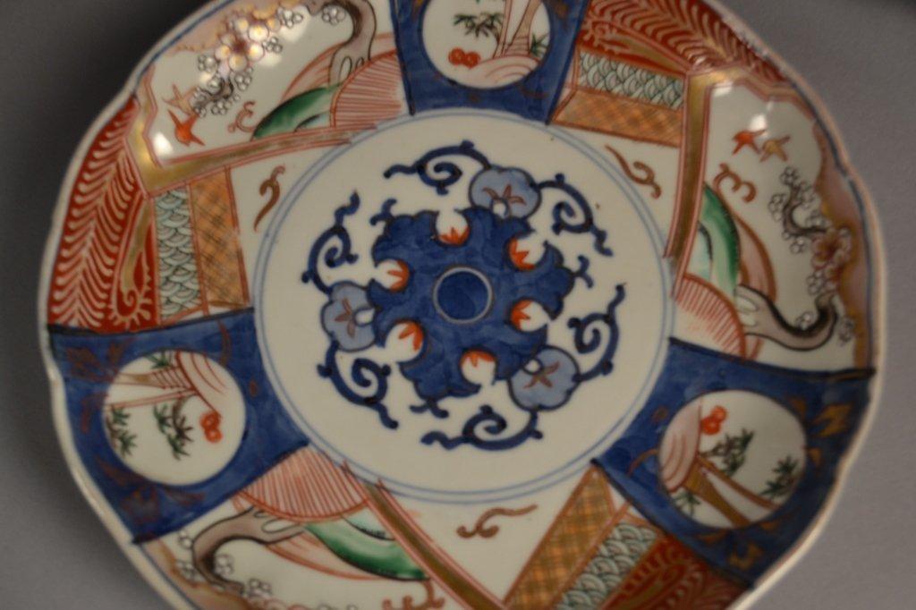 4 Antique Imari  Plates Here are (4) old imari plates - 3