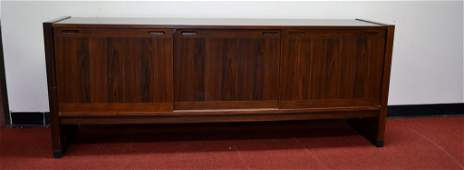 Mid Century Rosewood Sideboard This is a rose wood