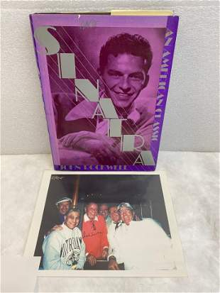 Sinatra hardcover book by John Rockwell and