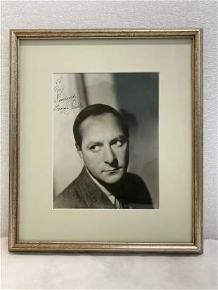 George Jessel 1944 8x10 Black White Photograph with
