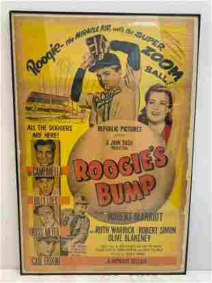 Roogies Bump Movie Poster 54407 Stamped approved