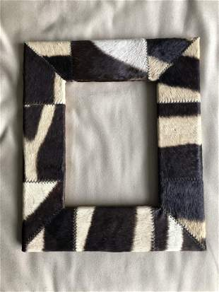 Zebra Hide Picture Frame