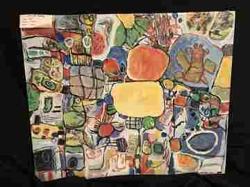 Abstract Original Art by David
