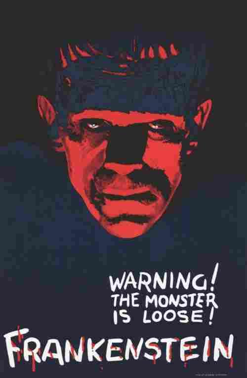 Frankenstein - Teaser Hollywood Poster