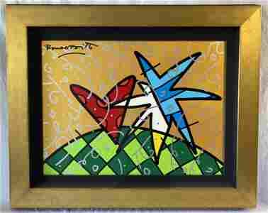 """""""In the Stars"""" by Romero Britto"""