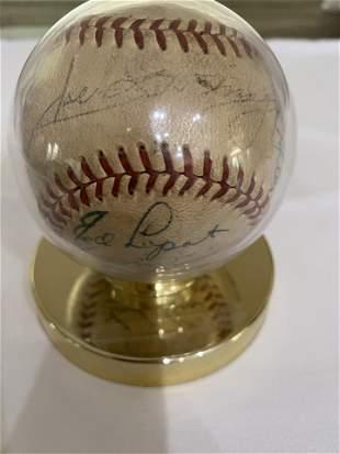 Ed Lopat and multiple signature Baseball