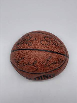 NBA Basketball Signed by 2 and others AD63670