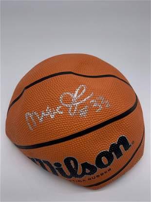 Magic Johnson 33 Autographed Basketball
