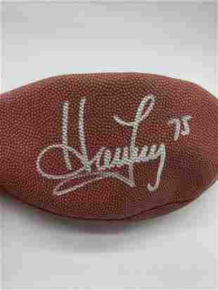 NFL MVP Football Signed Houley 75