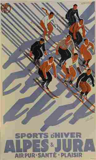 Sports D Hiver Sports Poster