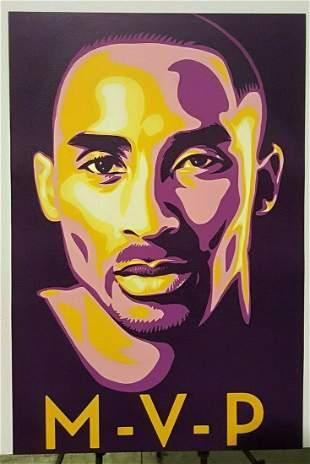 MVP Kobe Bryant Sports Poster
