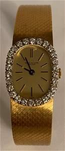 Vintage18k Patek Philippe watch ladies Diamond Bezel