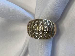 Women's 14K Gold Diamond Ring