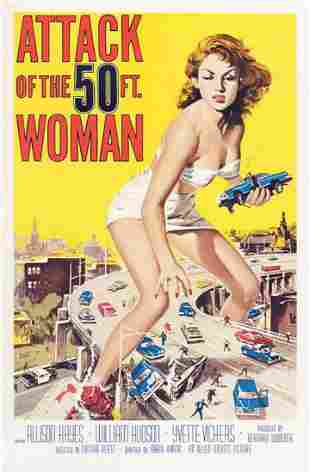 Attack of the 50ft. Woman Hollywood Poster