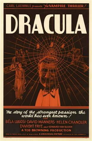 Dracula Hollywood Poster