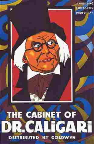 The Cabinet of Dr. Caligari Hollywood Poster