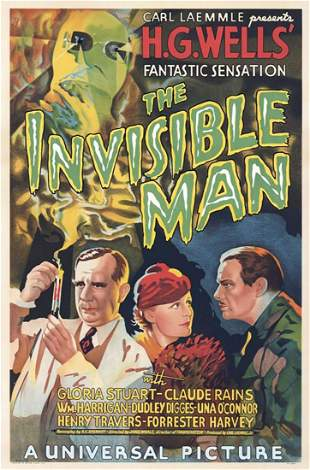 The Invisible Man Hollywood Poster