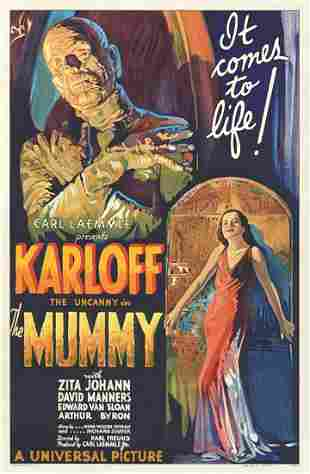 The Mummy Hollywood Poster