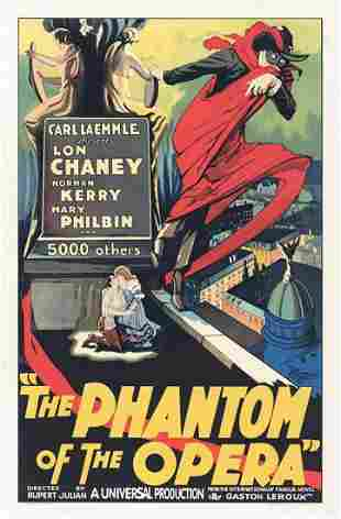 The Phantom of the Opera Hollywood Poster