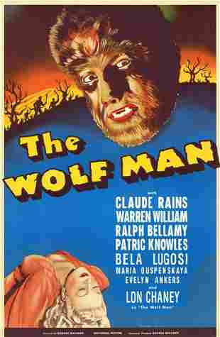 The Wolfman Hollywood Poster