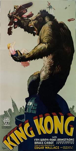 King Kong Hollywood Poster