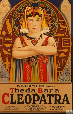 Cleopatra Hollywood Poster