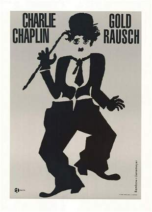 Gold Rausch Hollywood Poster