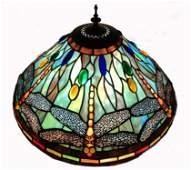 Meyda Tiffany Dragonfly Cone Shape Table Lamp