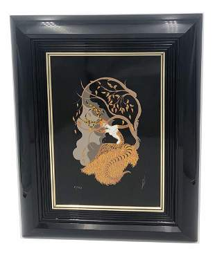 "Erte ""The Four Seasons - Fall"" LE Serigraph 81/450"