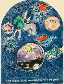 Marc Chagall Tribe of Joesph Pencil Signed Numbered