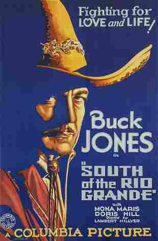 Buck Jones: South of the Rio Grande