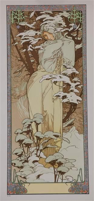 Winter 1900, Alphonse Mucha
