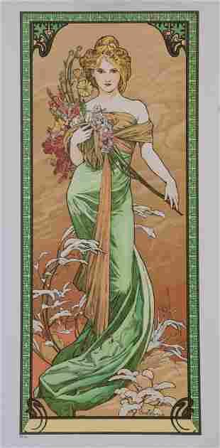 Spring 1900, Alphonse Mucha