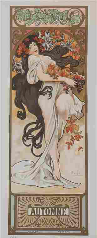 Seasons - Automne, Alphonse Mucha