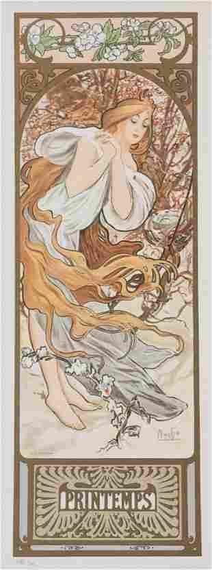 Seasons - Printemps (Spring), Alphonse Mucha