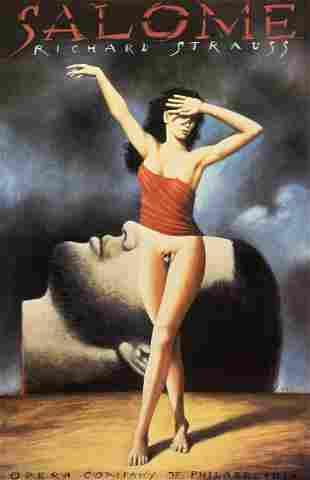 Salome (Richard Strauss) Digital Print