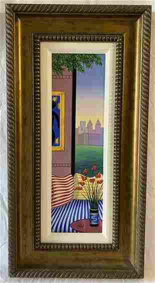 """""""Striped Sofa over Central Park"""" by Fanch (Francois"""