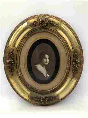 Antique Photograph Portrait of Woman
