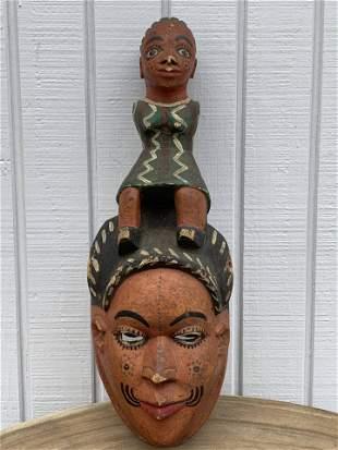 Ibo Maiden Spirit Mask