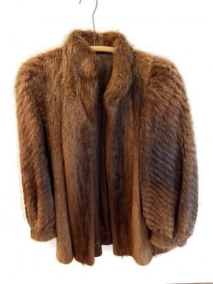 Vintage Fur Coat - Womens approx. Medium