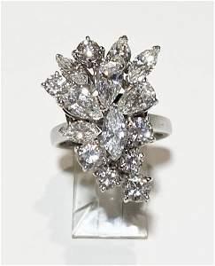 15 Diamond Custom Platinum Women