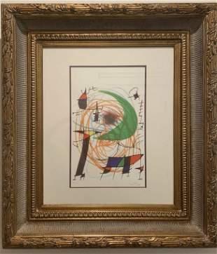 """Joan Miró """"Green Moon"""""""