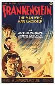 Frankenstein Hollywood Poster