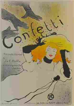 Confetti, Henri de Toulouse-Lautrec