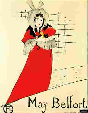 May Belfort, Henri de Toulouse-Lautrec