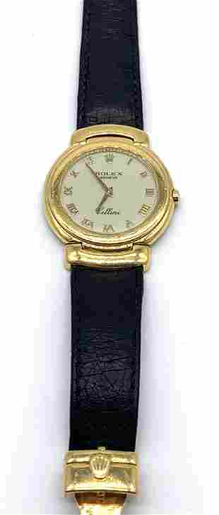 18kt Yellow Gold Rolex Cellini